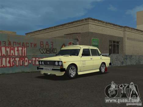 VAZ 2106 Sparco Tuning for GTA Vice City back left view