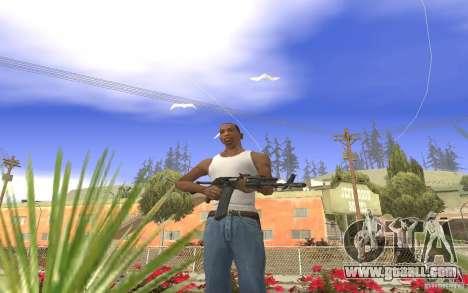 AK 101 for GTA San Andreas forth screenshot