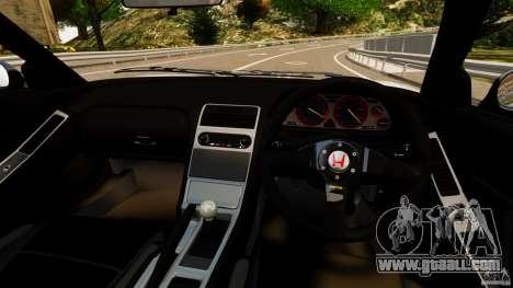 Honda NSX-R GT for GTA 4 back view