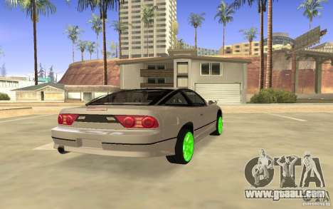 Nissan 200SX Monster Energy for GTA San Andreas right view