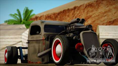 Rat Rod for GTA San Andreas back view