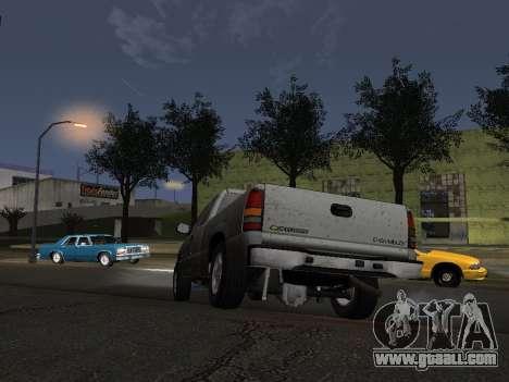 Chevorlet Silverado 2000 for GTA San Andreas side view