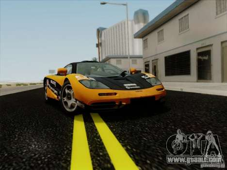 McLaren F1 1994 v1.0.0 for GTA San Andreas side view