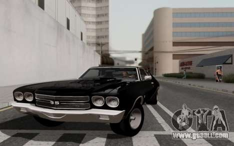Chevrolet Chevelle SS 454 1970 for GTA San Andreas