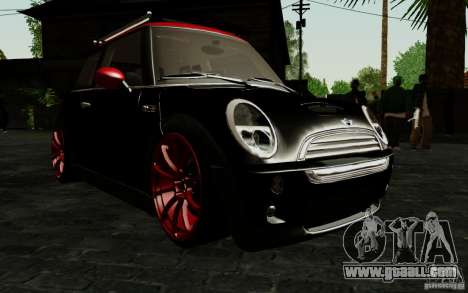 Mini Cooper S Tuned for GTA San Andreas side view