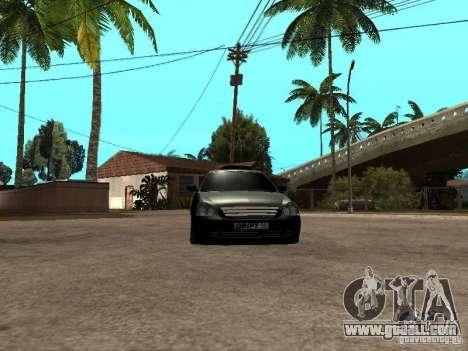 Lada Priora Pickup for GTA San Andreas back view