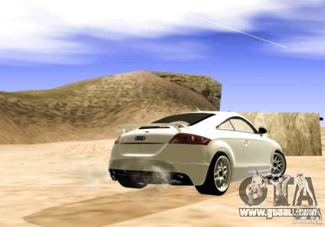Audi TT RS for GTA San Andreas left view