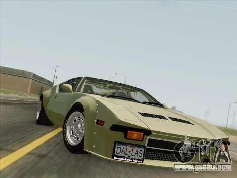 De Tomaso Pantera GT4 for GTA San Andreas