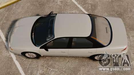 Dodge Intrepid 1993 Civil for GTA 4 right view