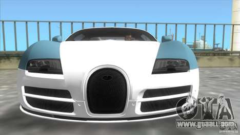 Bugatti ExtremeVeyron for GTA Vice City back left view