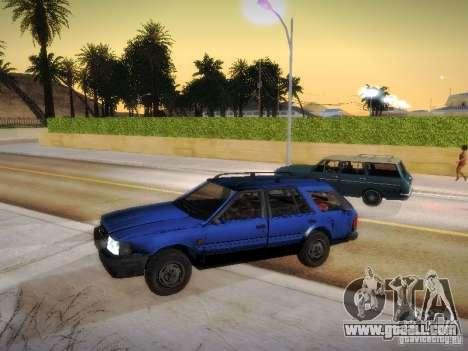 Nissan Bluebird Wagon for GTA San Andreas back left view