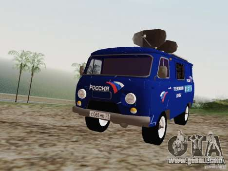 UAZ-3741 To for GTA San Andreas left view