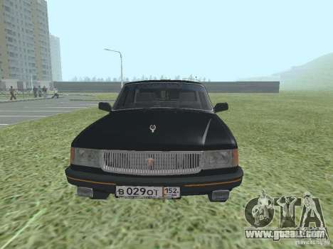 Volga GAZ 31029 for GTA San Andreas right view