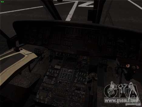 S-70 Battlehawk for GTA San Andreas back view