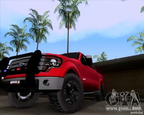 Ford F-150 4x4 for GTA San Andreas right view