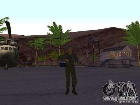 Spetsnaz VDV for GTA San Andreas