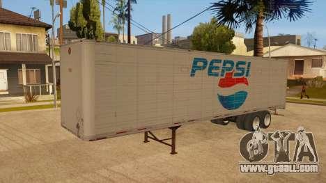 All-metal trailer for GTA San Andreas interior