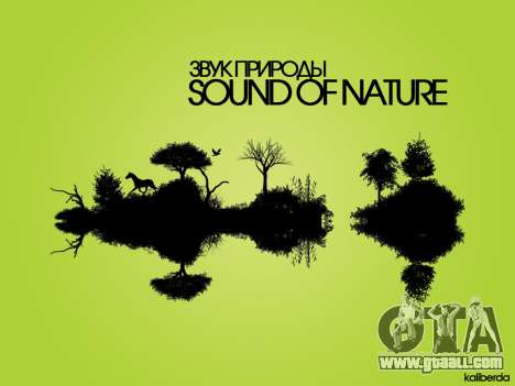 Sounds of Nature for GTA San Andreas