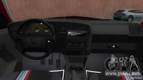 Volkswagen Golf GTI 1994 for GTA Vice City back left view