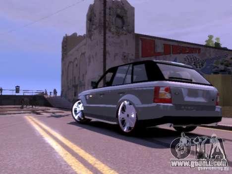 Range Rover DUB 2.0 for GTA 4 back left view