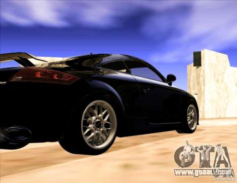 Audi TT RS for GTA San Andreas right view