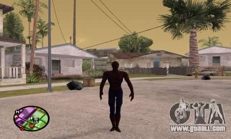 Spider Man and Venom for GTA San Andreas