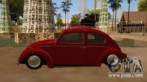 VW Beetle 1966 for GTA San Andreas left view