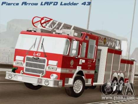 Pierce Arrow LAFD Ladder 43 for GTA San Andreas