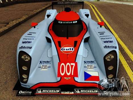 Aston Martin DBR1 Lola 007 for GTA San Andreas left view