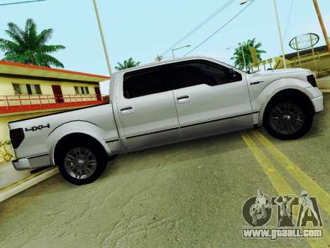 Ford F150 Platinum Edition 2013 for GTA San Andreas left view