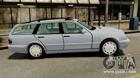Mercedes-Benz W210 Wagon for GTA 4 left view