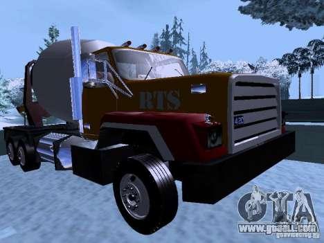 RTS 420 Šatalka for GTA San Andreas left view