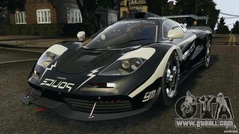 McLaren F1 ELITE Police for GTA 4