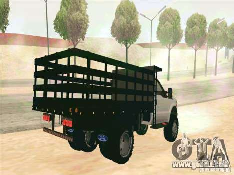 Ford F-450 for GTA San Andreas right view