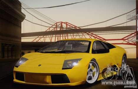 Lamborghini Murcielago 2002 v 1.0 for GTA San Andreas right view