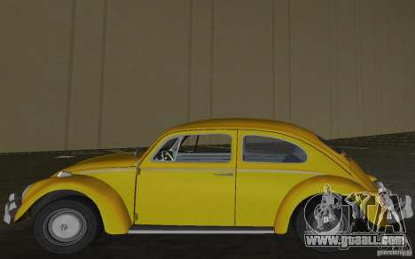 Volkswagen Beetle 1963 for GTA Vice City back left view