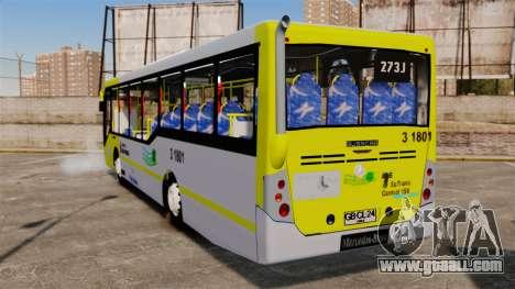 Busscar Urbanuss Pluss 2009 Le VIP Itaim Paulist for GTA 4 back left view
