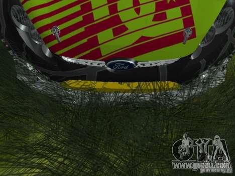 Ford Fiesta H.F.H.V. Ken Block Gymkhana 5 for GTA San Andreas inner view