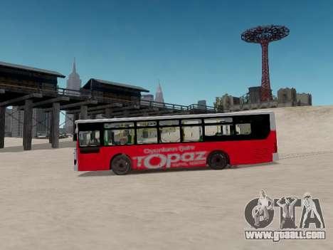 Daewoo BC211MA Baku for GTA 4 inner view