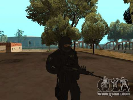 Member Of The FSB for GTA San Andreas