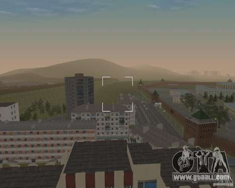 Nižegorodsk v0.5 BETA for GTA San Andreas second screenshot