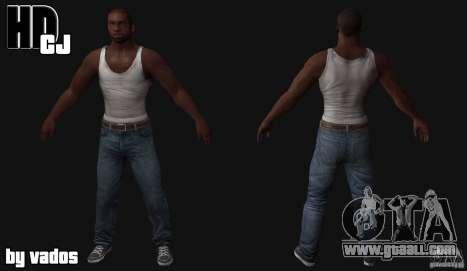 New CJ for GTA San Andreas