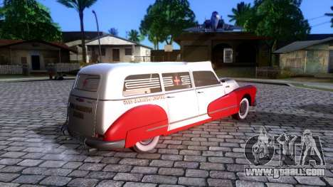 Buick Special Ambulance for GTA San Andreas left view
