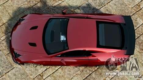Lexus LFA 2012 Nurburgring Edition for GTA 4 right view