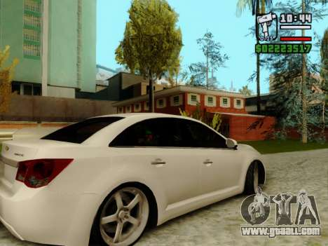 Chevrolet Cruze for GTA San Andreas back view
