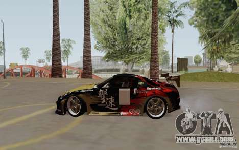 Nissan 350Z for GTA San Andreas side view