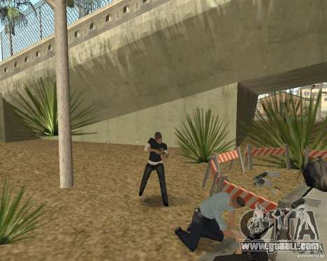 Scene of the crime (Crime scene) for GTA San Andreas sixth screenshot