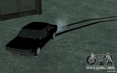 Datsun 510 for GTA San Andreas back view