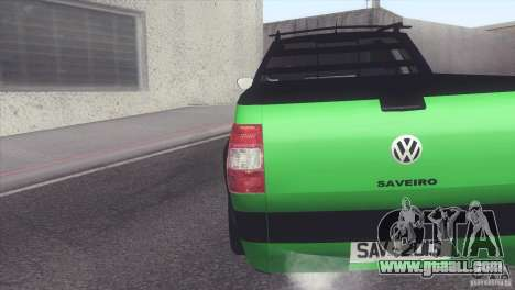 Volkswagen Saveiro 2013 for GTA San Andreas left view