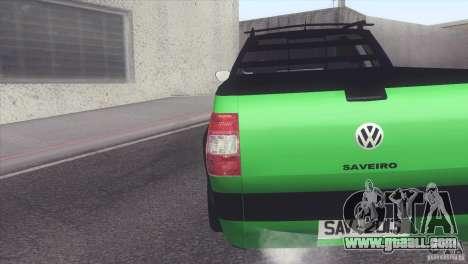 Volkswagen Saveiro 2013 for GTA San Andreas left view
